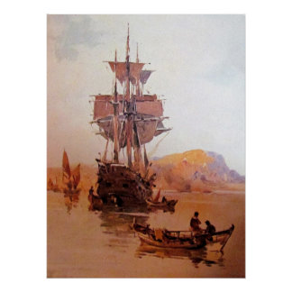 a ship at sea 06 poster