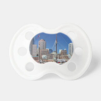 A Ship in Boston Harbor Baby Pacifier