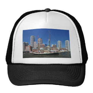 A Ship in Boston Harbor Hats