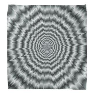 A Sight for Sore Eyes in Monochrome Bandana