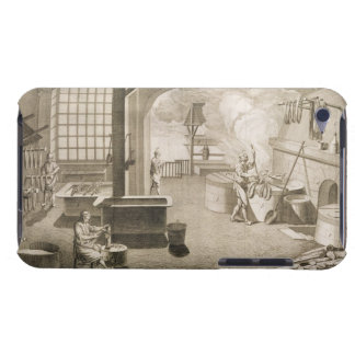 A silk dyer's workshop, from the 'Encyclopedie des Barely There iPod Cover