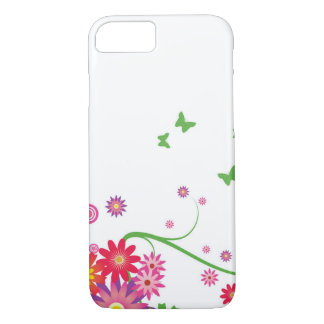 A simple floral pattern iPhone 8/7 case