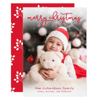 A Simple Merry Christmas | Photo Card