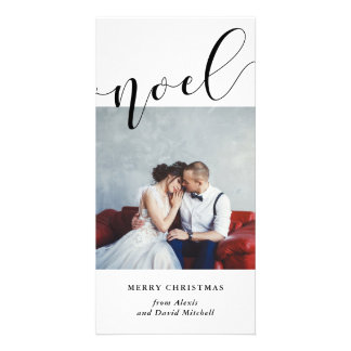 A Simple Noel | Minimalist Modern Typography Card
