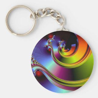 A Simple Twist of Fate Key Ring