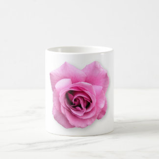 a single rose coffee mug