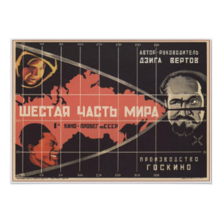 A Sixth Part of the World by Vertov 1926 Movie Posters