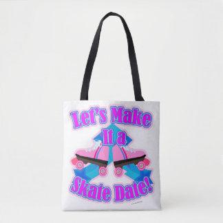 A Skate Date Tote Bag