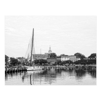 A Sketch of Annapolis Harbor Postcard