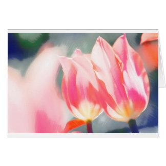 A Sketch of Tulipa Duo Card