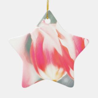 A Sketch of Tulipa Duo Ceramic Ornament