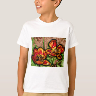 A Sketch of Tulipa Duo T-Shirt