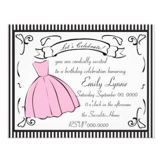 A Sketched Dress Invitations