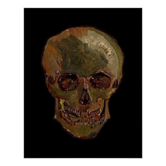 A Skull by Vincent van Gogh Poster