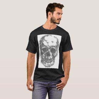 A skull made of flies T-Shirt