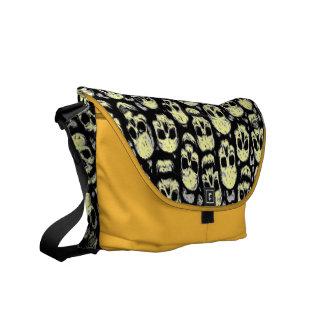 A Skull Messenger Bag. You can change skull colors Commuter Bag