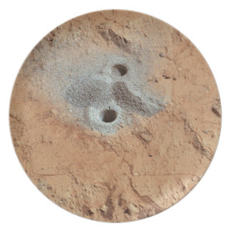 A Skull On Mars? Party Plate
