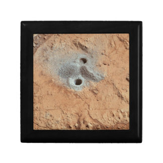 A Skull On Mars? Small Square Gift Box