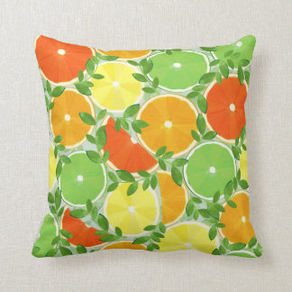 A Slice of Citrus Cushion