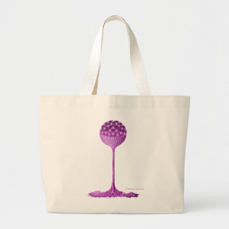 A Slime Mould Large Tote Bag
