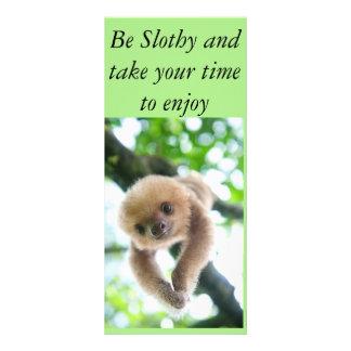 A sloth card