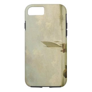 A Smack Under Sail in a Light Breeze in a River, c iPhone 7 Case