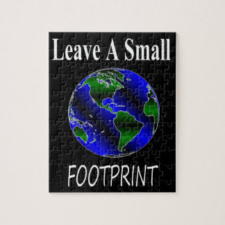 A Small Footprint Globe Jigsaw Puzzle