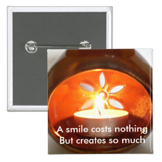 A smile costs nothing buttons