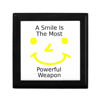 A Smile Is The Most Powerful Weapon (Smiley Face) Gift Box