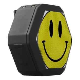 A smiling speaker