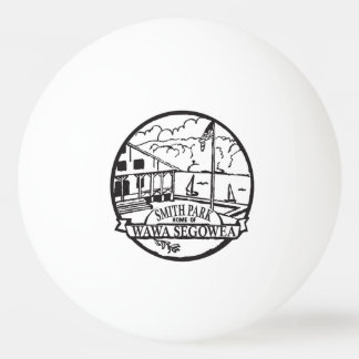 A Smith Park ping pong ball!