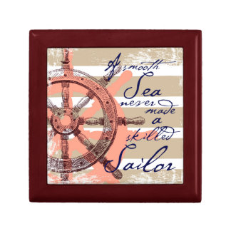 A Smooth Sea never made a skilled Sailor Gift Box