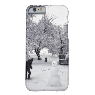 A Snowball Fight In Central Park Barely There iPhone 6 Case