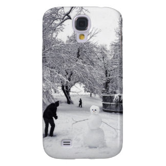 A Snowball Fight In Central Park Galaxy S4 Covers