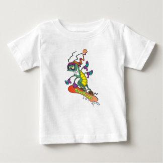 A snowboarding bug baby T-Shirt