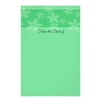 A Snowflake Stripe 2 Stationery