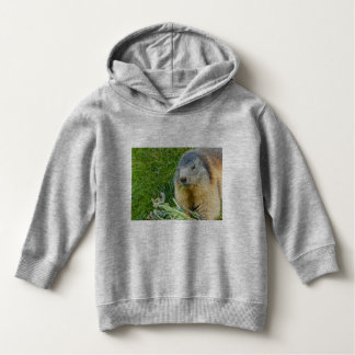 a sociable marmot on Toddler Pullover Hoodie