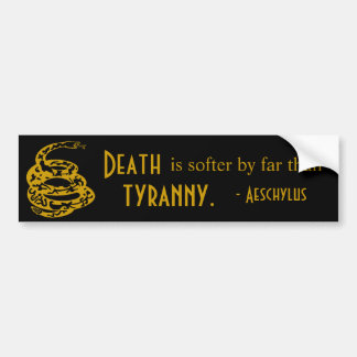 A Soft Death Bumper Sticker