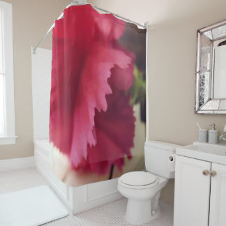 A Soft Pink Melody Shower Curtain