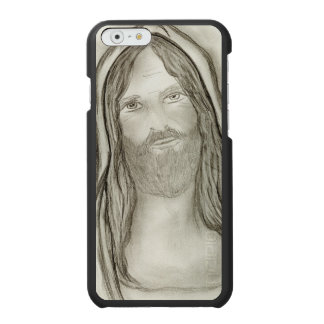 A Solemn Jesus Incipio Watson™ iPhone 6 Wallet Case