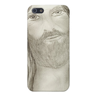 A Solemn Jesus iPhone 5/5S Case