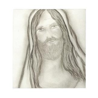 A Solemn Jesus Notepads