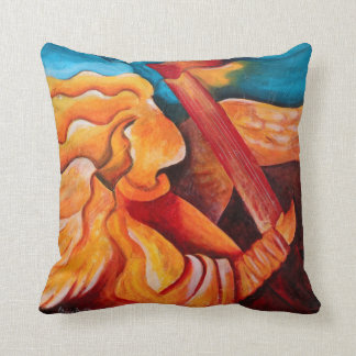 A song for Nicolette 2001 Throw Pillow
