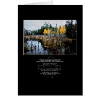 A Song Softly Sung - Tamarack and Cattails Card