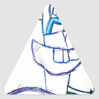 A Songbirds Morphetic Triangle Sticker