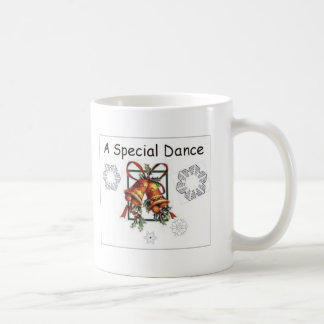 A Special Dance with Snowflakes and Bells Mug