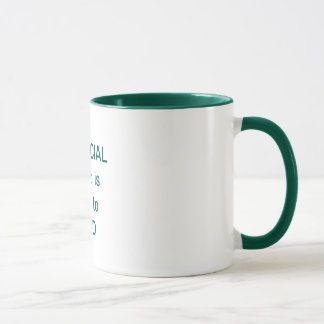 A SPECIAL friend is hard to FIND Mug