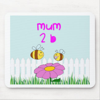 A special gift for a mum to be mouse pad