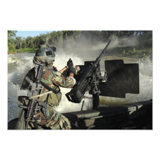 A Special Warfare Combatant-craft Crewman Photo Art