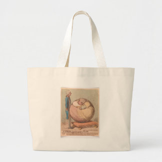 A Sphere, Projecting Against a Plane Large Tote Bag